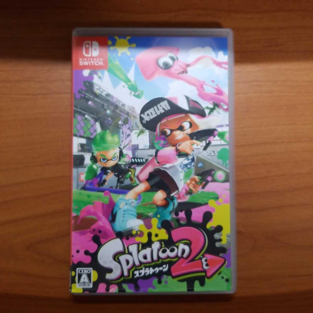 Switch スプラトゥーン2 Splatoon2 任天堂スイッチ Switch カセット ソフト 送料無料