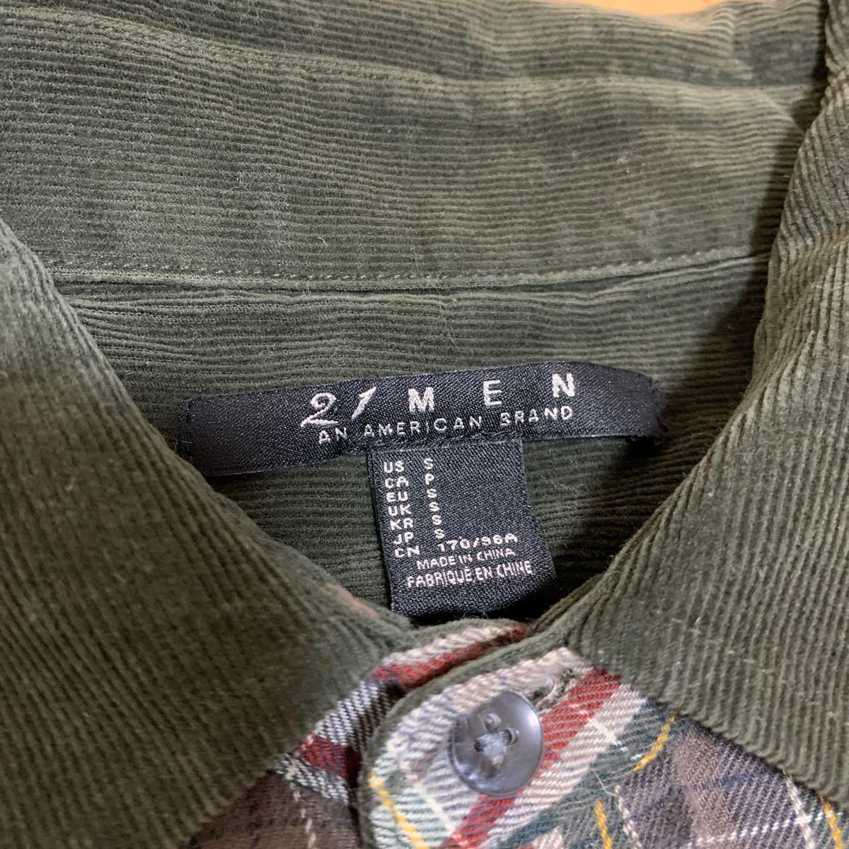 Forever 21 長袖シャツ ネルシャツ チェックシャツ チェック柄