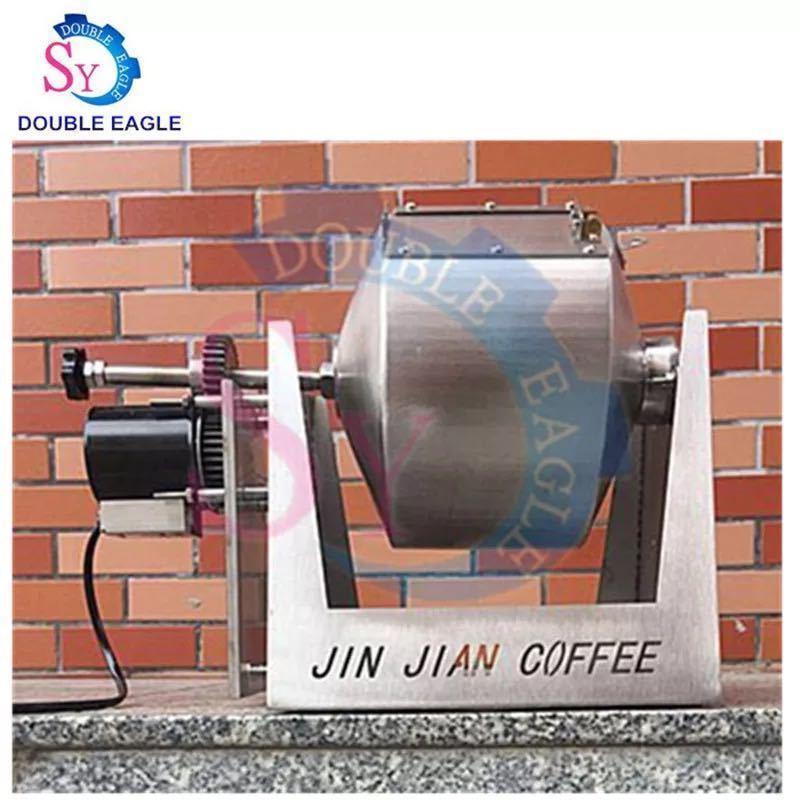 電動コーヒーロースター 回転式 大容量2~4kg用 コーヒー豆焙煎機 炒り器 生豆 栗 直火 飲食店 業務用