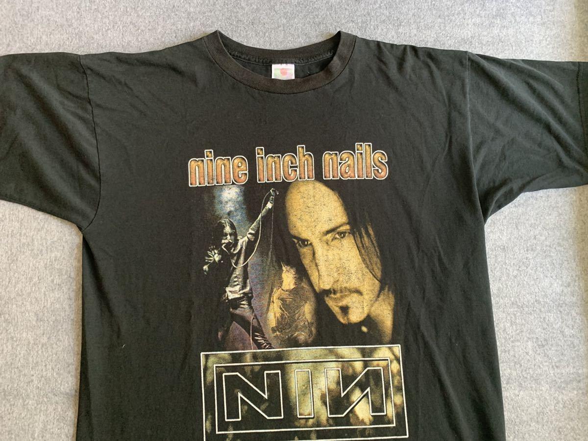 90s NIN nine inch nails ビンテージ Tシャツ フォト nirvana トラビススコット metallica pearl jam vintage ナインインチネイルズ_画像2