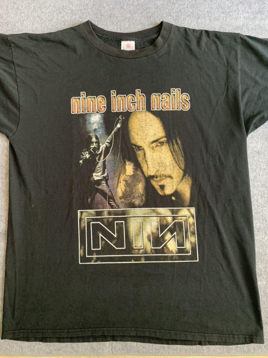 90s NIN nine inch nails ビンテージ Tシャツ フォト nirvana トラビススコット metallica pearl jam vintage ナインインチネイルズ_画像1
