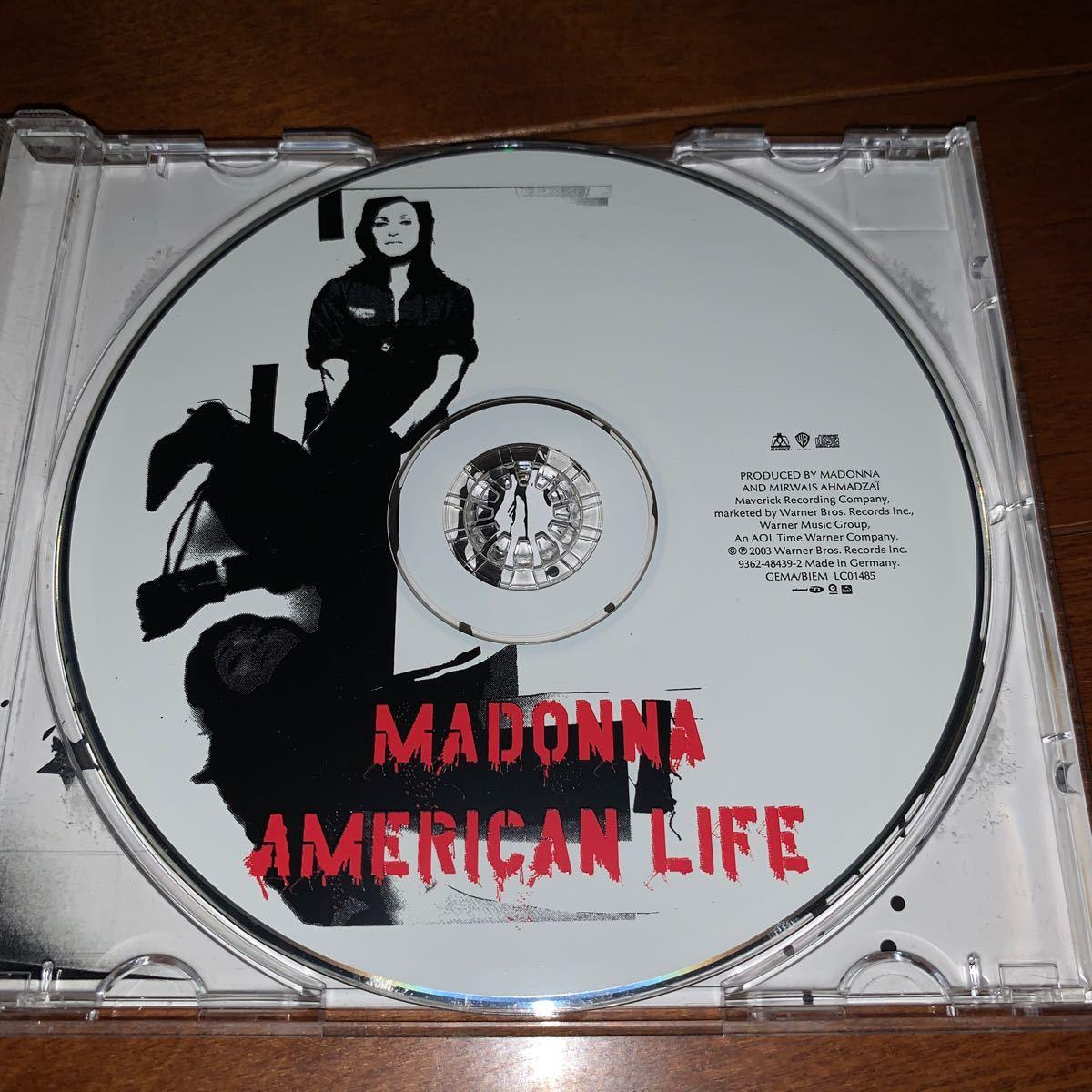 洋楽 / Madonna マドンナ / American LifeCD