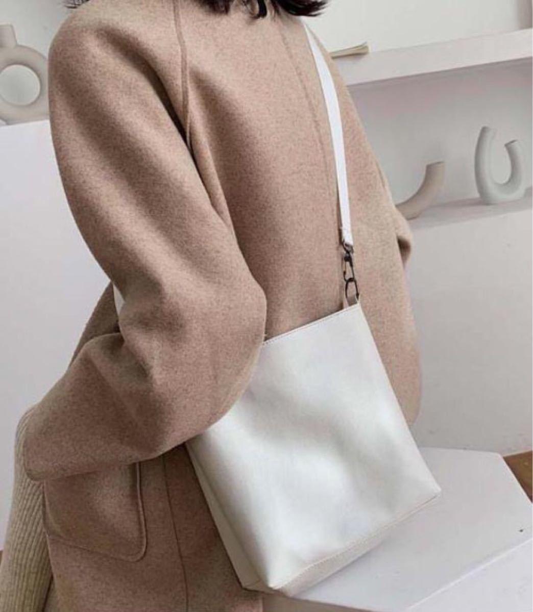ショルダーバッグ 手提げバッグ ハンドバッグ レディース ホワイト レザーバッグ