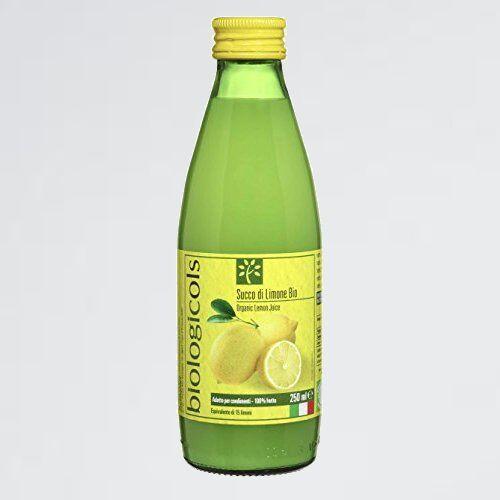 新品 未使用 シチリア産有機レモン15個分生搾りストレート果汁 biologicoils A-Y7 250ml 有機JAS認証_画像1