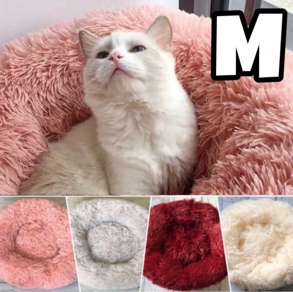 新品 送料無料 犬 猫 ペット用ドーナツ型クッション