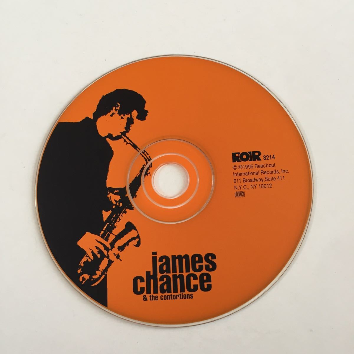 james chance & the contortions ジェイムス・チャンス コントーションズ lost chance ライヴ盤 NEWYORK PUNK NO WAVE ノー・ニューヨーク