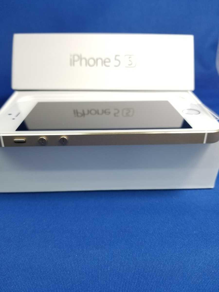 送料無料★SoftBank iPhone 5S 16G新品未使用品 ゴールド_画像4