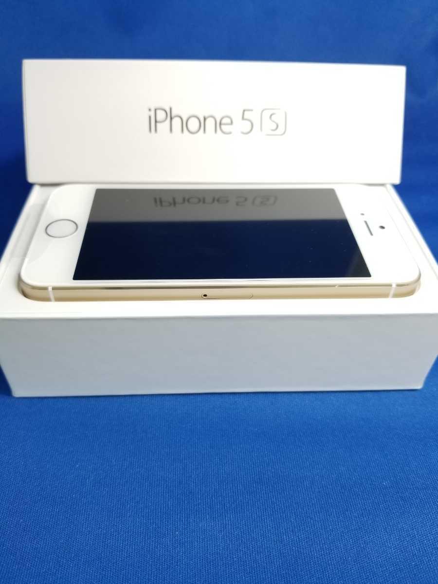 送料無料★SoftBank iPhone 5S 16G新品未使用品 ゴールド_画像2