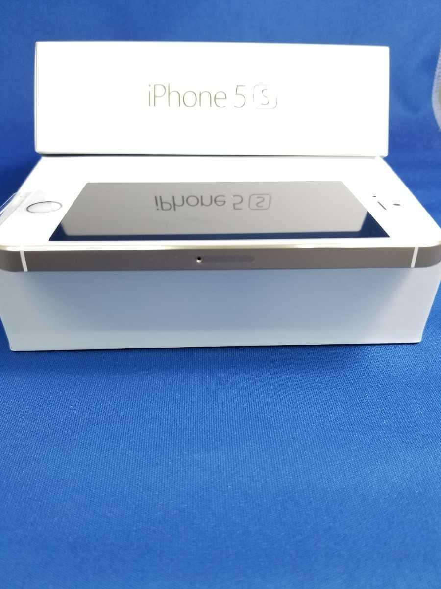 送料無料★SoftBank iPhone 5S 16G新品未使用品 ゴールド_画像3