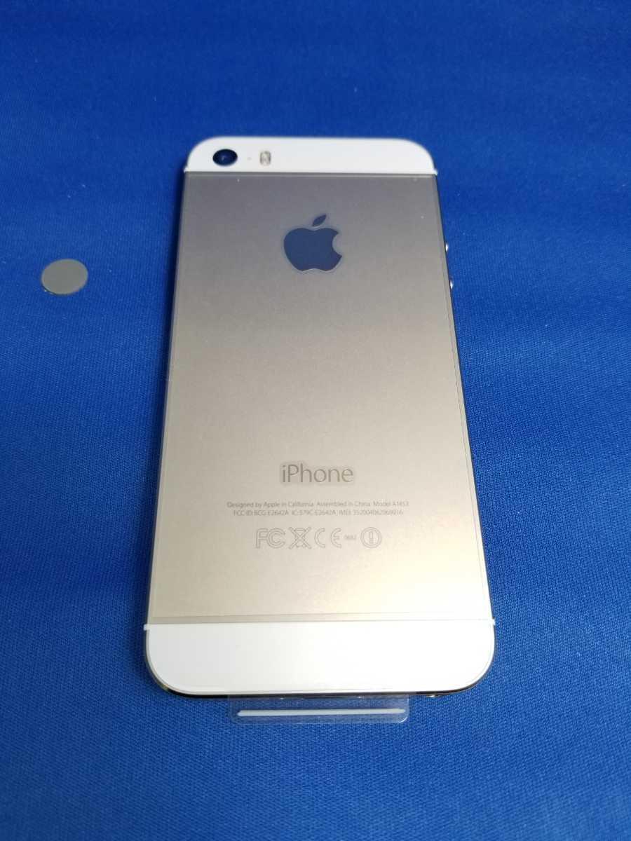 送料無料★SoftBank iPhone 5S 16G新品未使用品 ゴールド_画像6