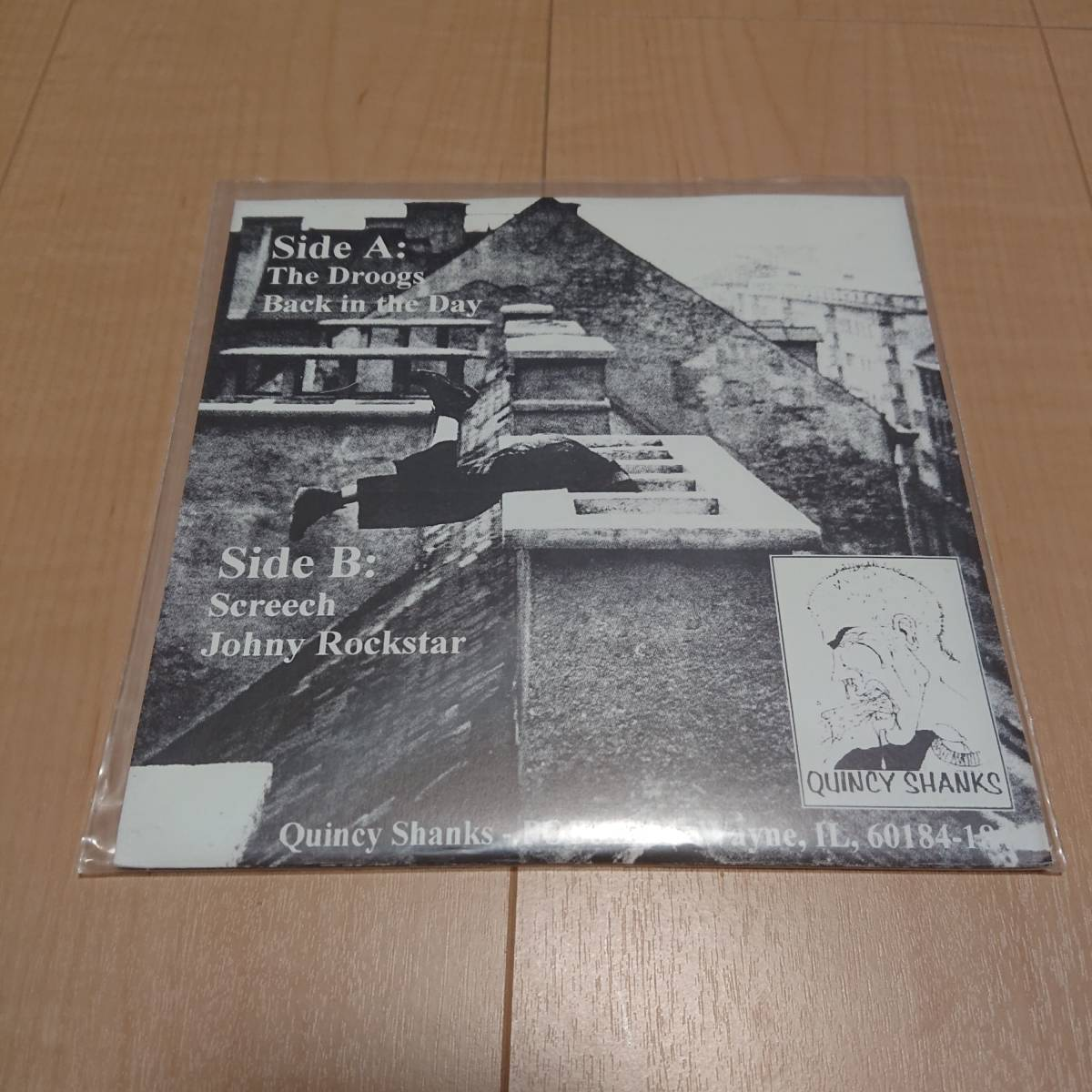 【The Undesirables - Me And My Three Droogs】gorilla biscuits 4-Squares Parker Brothers Quincy Shanks