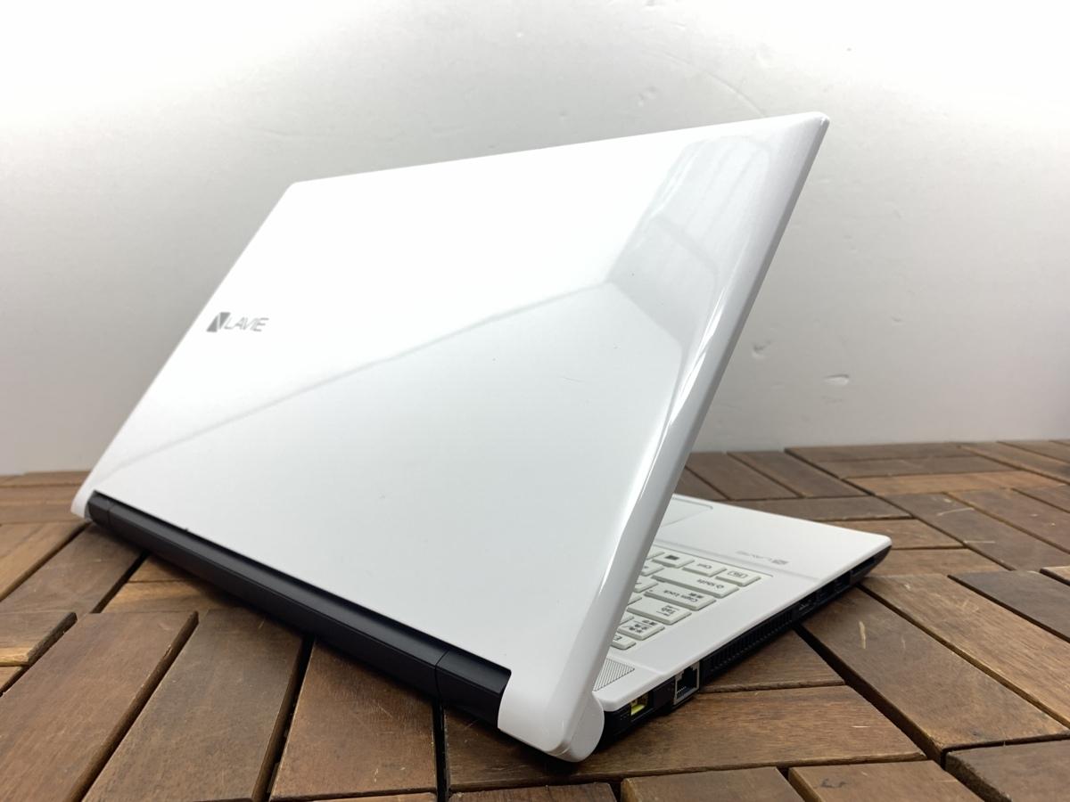 2016年モデル/第6世代/Windows10/office搭載/Webカメラ搭載!ビデオ通話対応【NEC/Lavie NS100/F】Celeron 3855U/メモリ4GB/新品SSD240GB_画像6