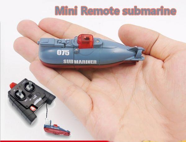 ラジコン 潜水艦 高速 リモート コントロール ミニ 子供のおもちゃ 男の子用 ギフト 玩具