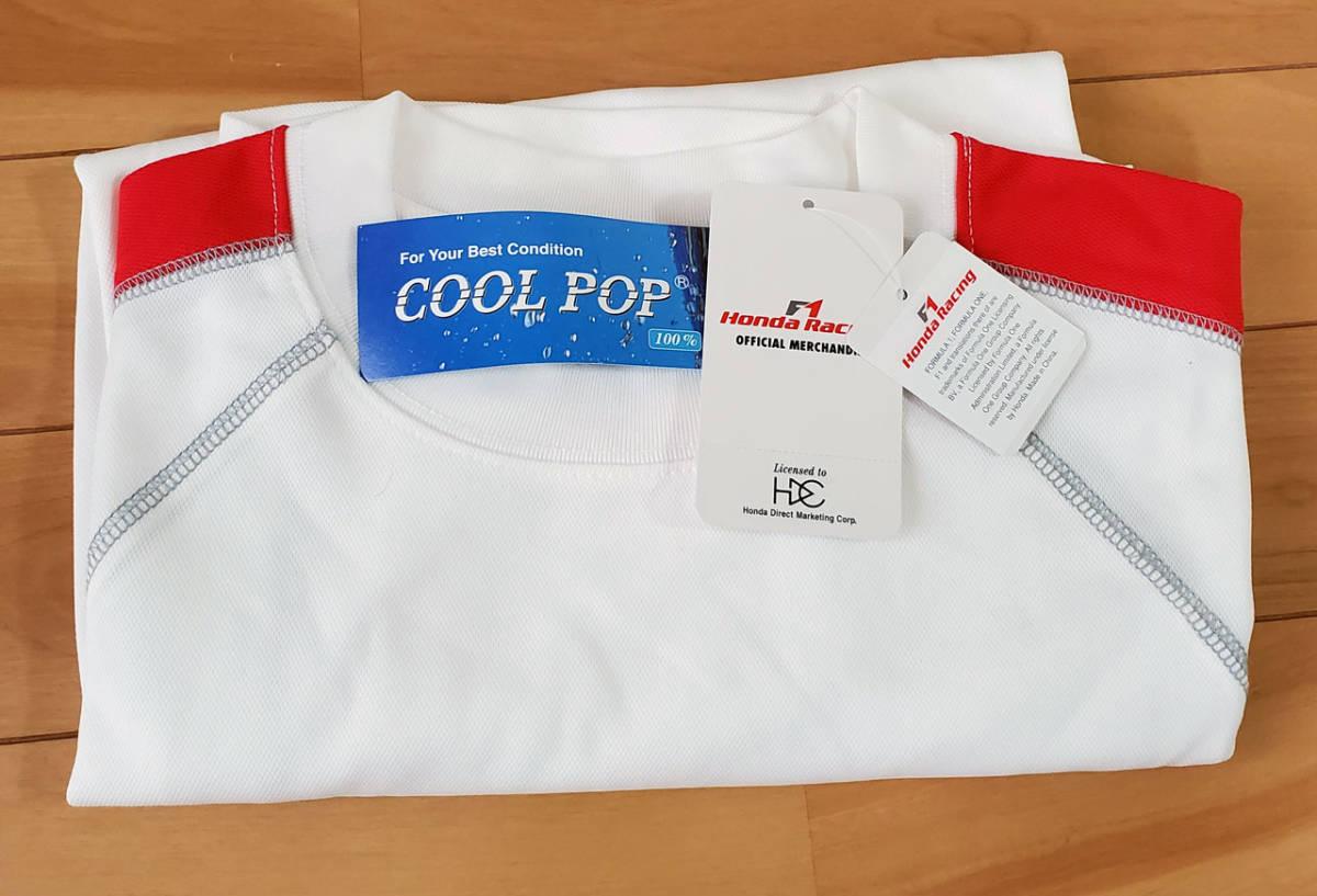 HondaRacing F1 Tシャツ Sサイズ White 未使用_画像3