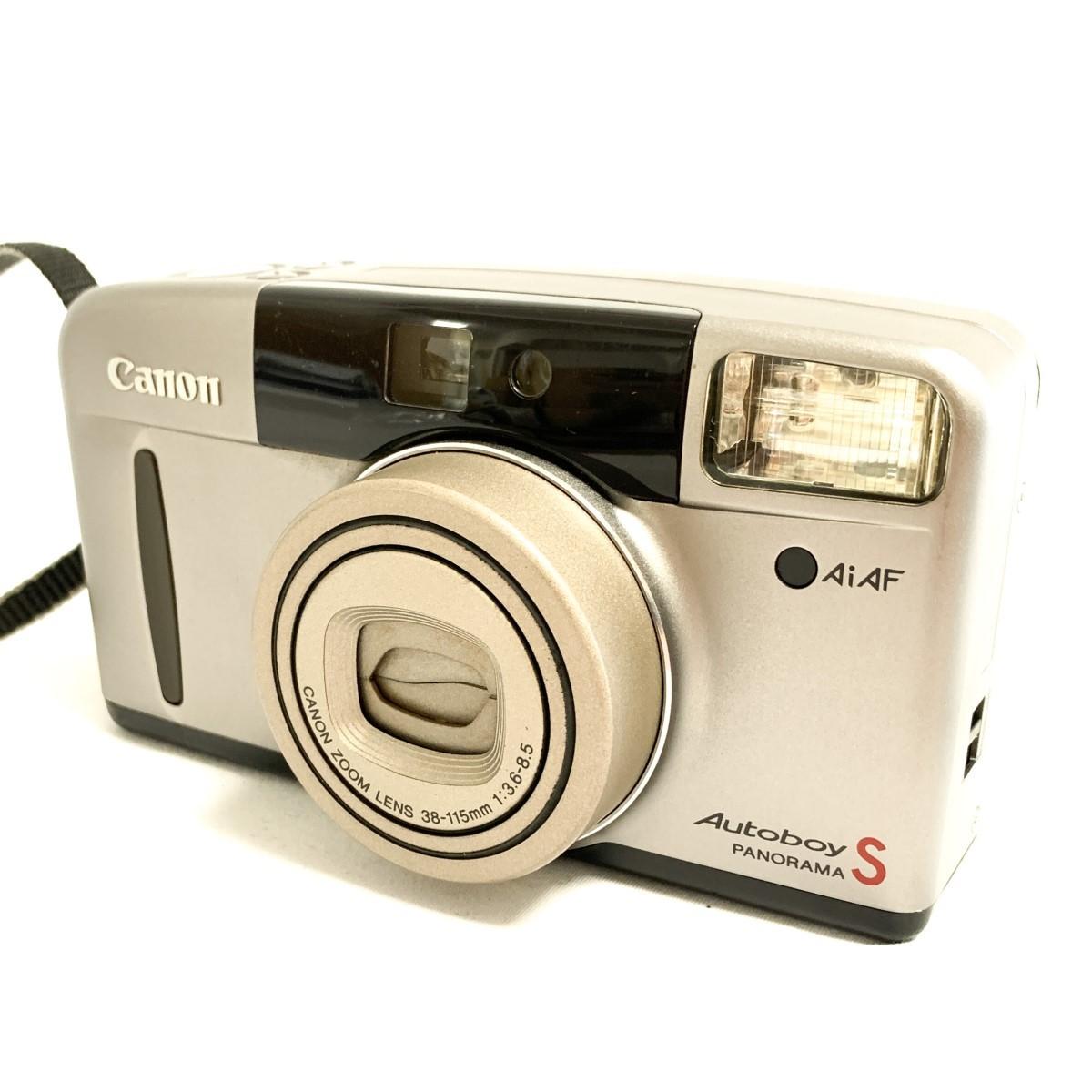 【極美品 完動品】Canon Autoboy S PANORAMA Ai AF 38-115mm 広角~望遠域レンズ パノラマ撮影 キャノン コンパクトフィルムカメラ C424_画像3