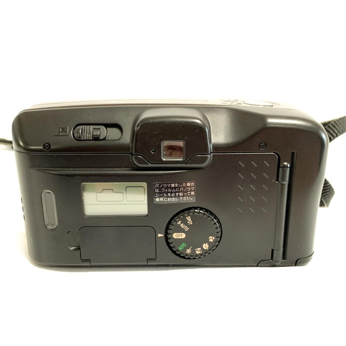 【極美品 完動品】Canon Autoboy S PANORAMA Ai AF 38-115mm 広角~望遠域レンズ パノラマ撮影 キャノン コンパクトフィルムカメラ C424_画像4
