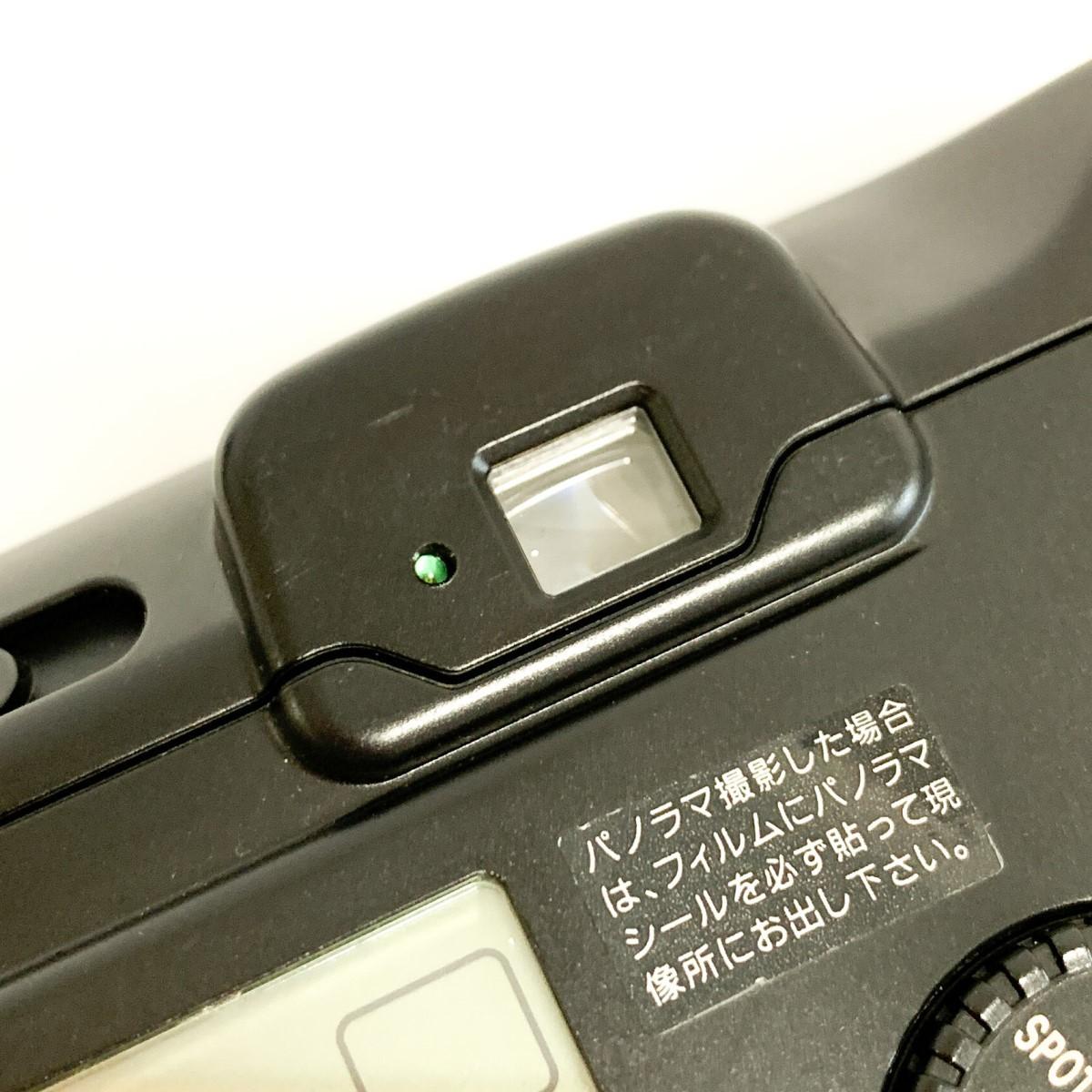 【極美品 完動品】Canon Autoboy S PANORAMA Ai AF 38-115mm 広角~望遠域レンズ パノラマ撮影 キャノン コンパクトフィルムカメラ C424_画像10