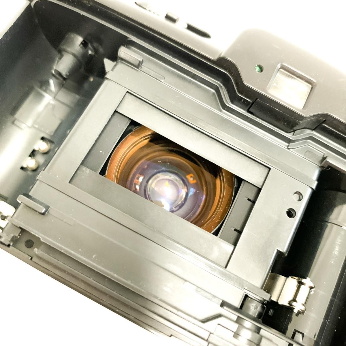 【極美品 完動品】Canon Autoboy S PANORAMA Ai AF 38-115mm 広角~望遠域レンズ パノラマ撮影 キャノン コンパクトフィルムカメラ C424_画像9