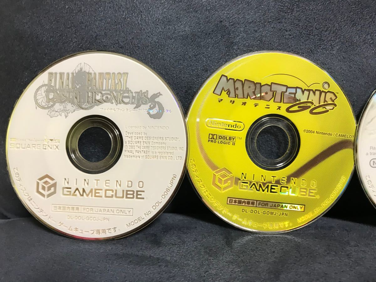 【まとめ売り】ゲームキューブソフト 5本セット