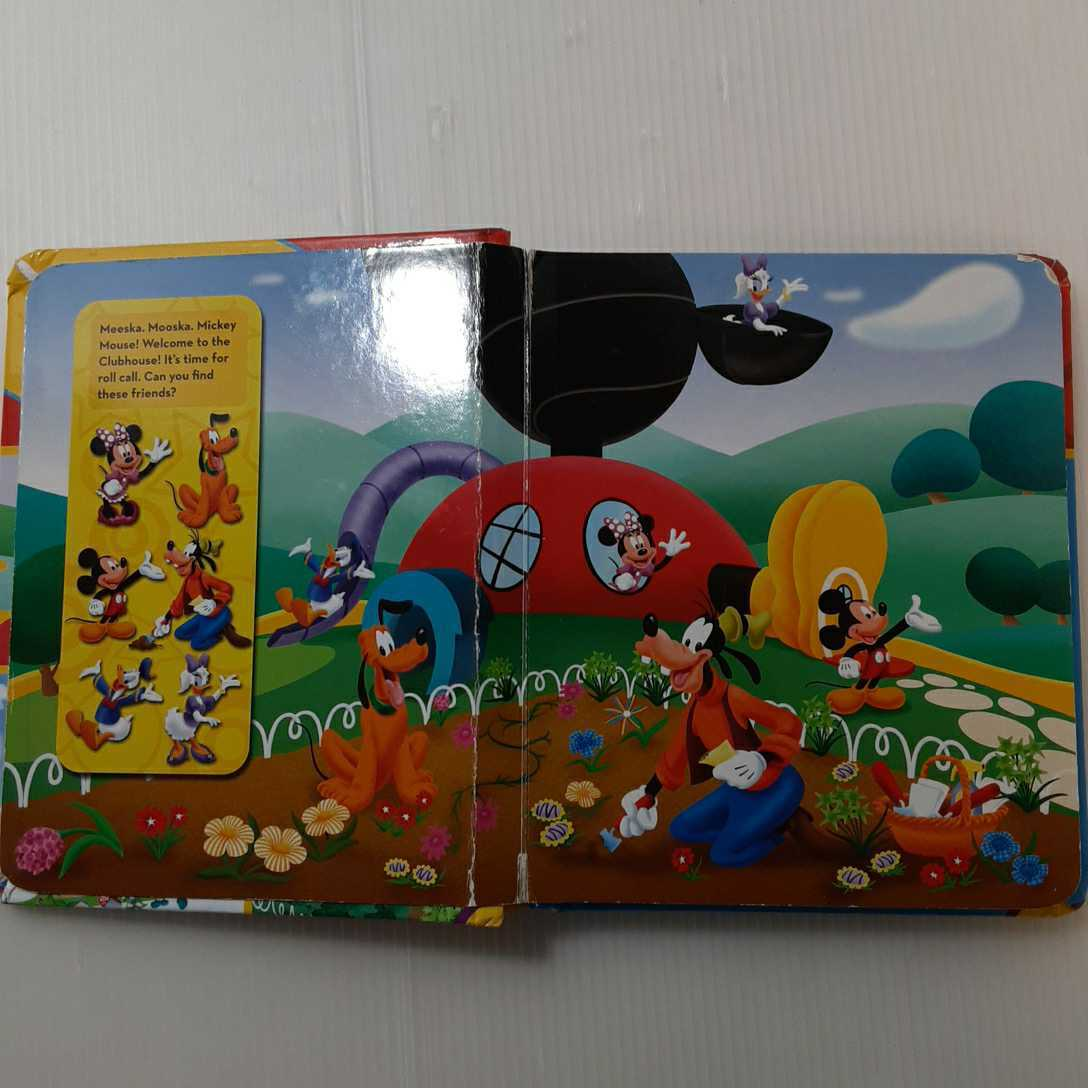 zaa-062★Disney: Mickey Mouse Clubhouse: My Little First Look and Find Activity Book (英語) ボードブック 絵本, 2011/9/1