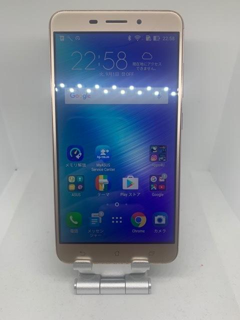 【送料無料】国内版 ASUS Zenfone3 Laser SIMフリー_画像1