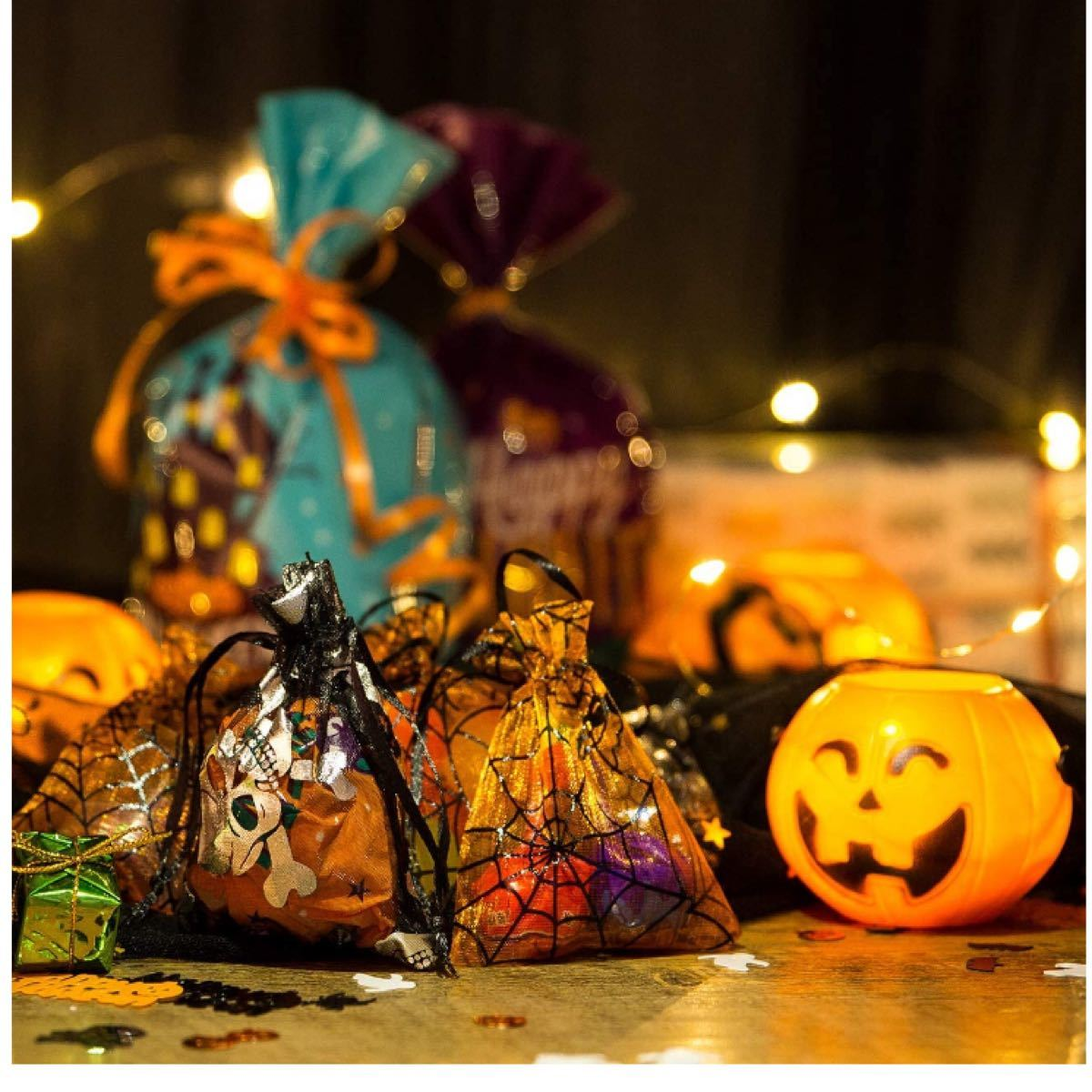 ハロウィン  お菓子 小分け ラッピング 袋 計10枚