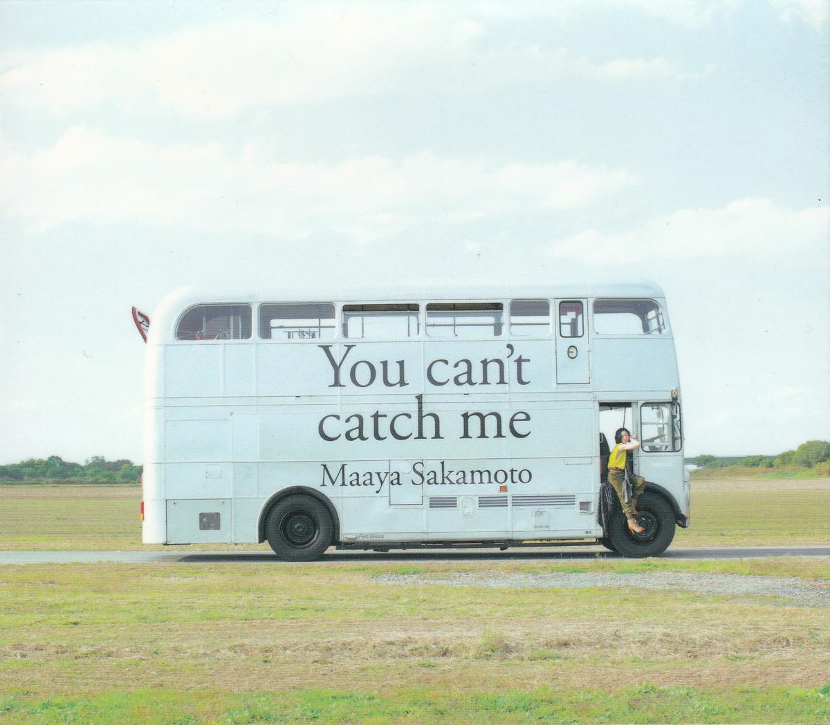 ★坂本真綾:You can't catch me [初回限定盤]/7thオリジナルアルバム,スリーブケース付,特典CD付_画像1