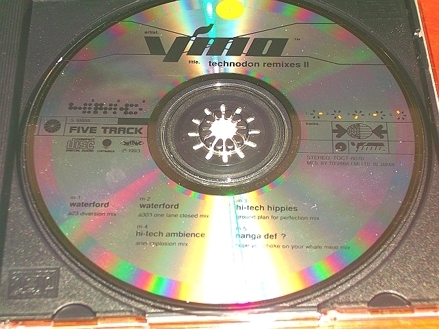 "●YMO●""Technodon Remixes II""●坂本龍一 細野晴臣 高橋幸宏_画像2"
