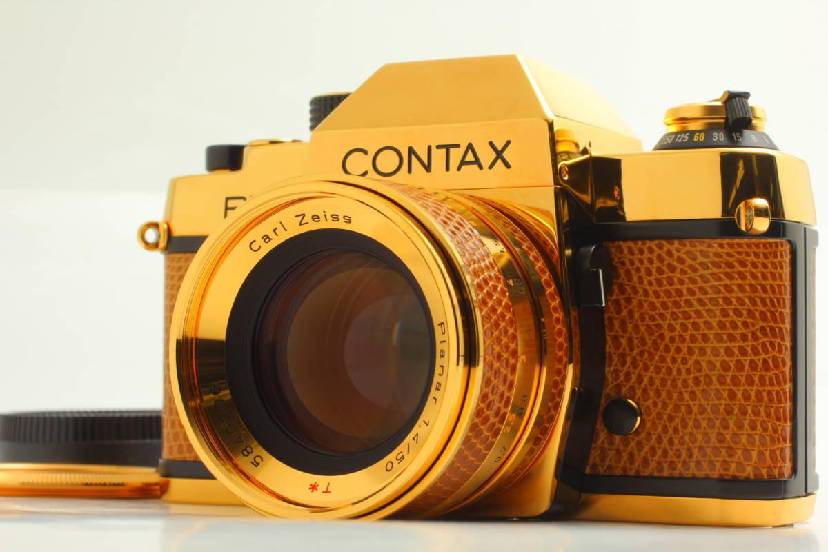 【現状品】コンタックス CONTAX RTS GOLD 50year 50mm f1.4 #507