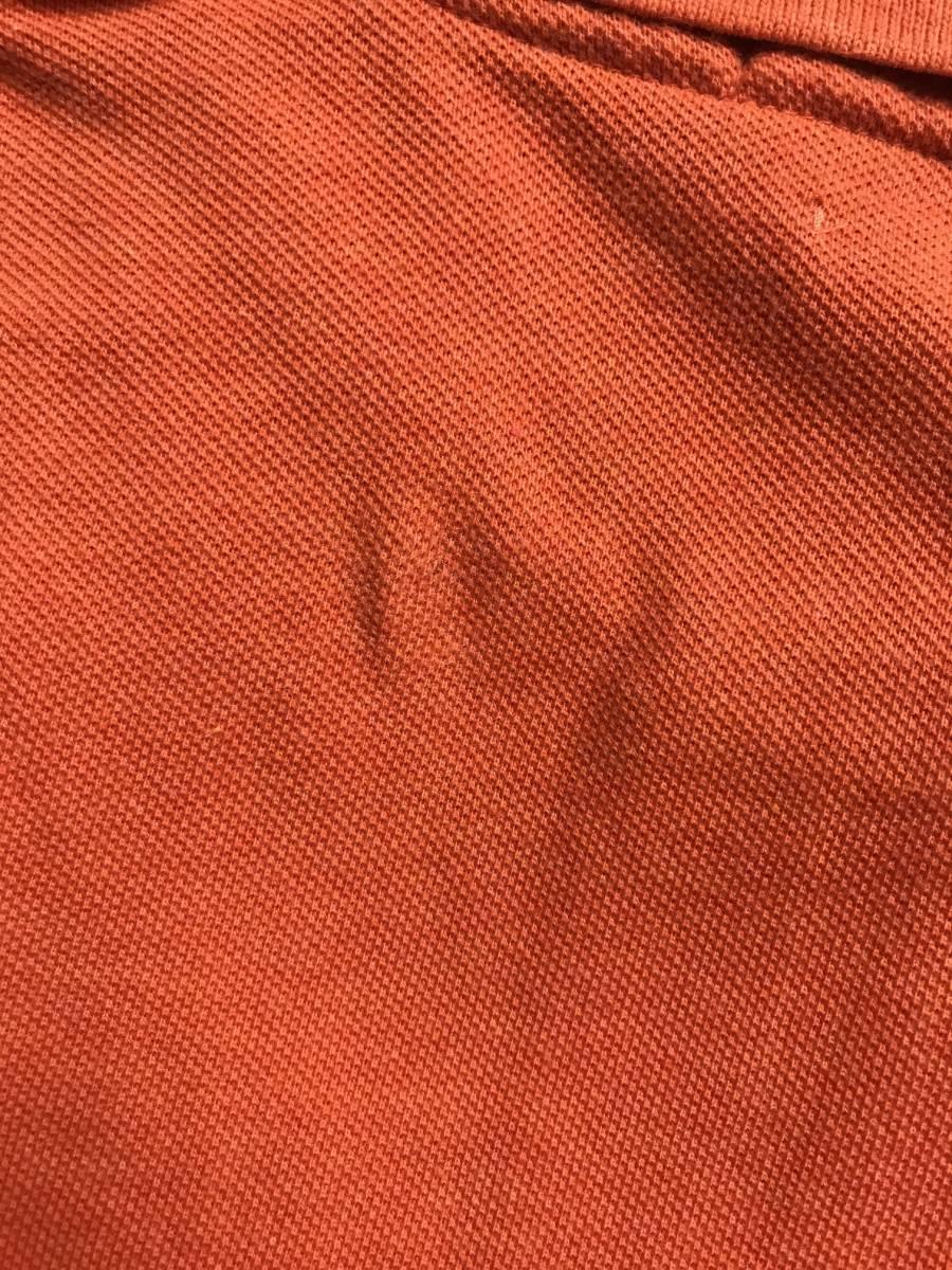 新品 アウトレット 946 XLサイズ メンズ 半袖 シャツ polo ralph lauren ポロ ラルフ ローレン オレンジ_画像3