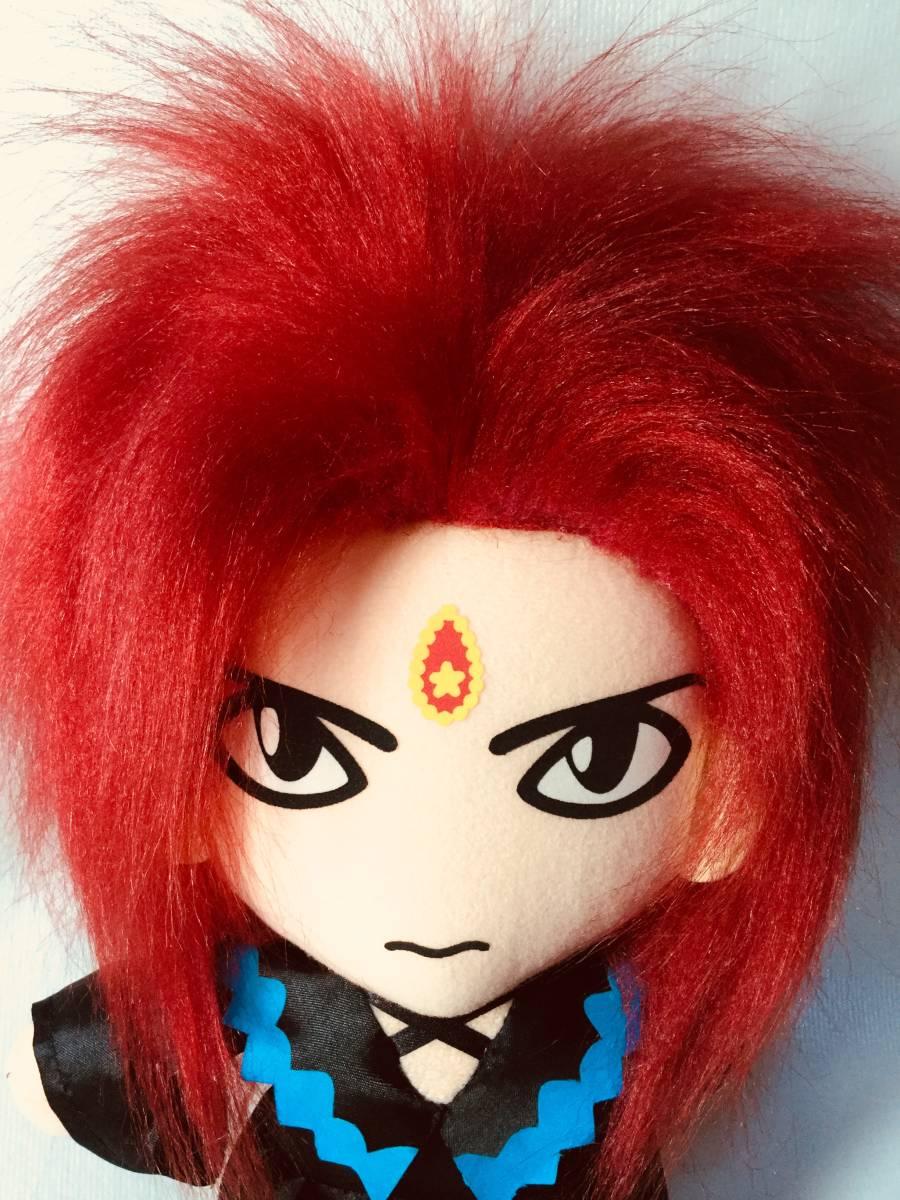 hide Yoshikiも持ってる DX ぬいぐるみ 特殊ブラック染め加工 参考( X JAPAN 人形 ギター イエローハート ライブ イベント メモリアル DVD_画像7