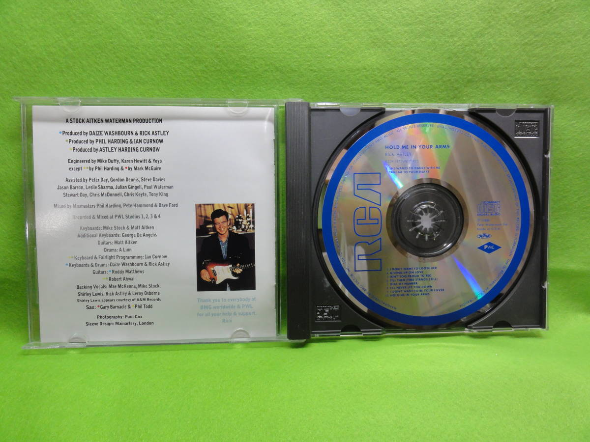 CD-23 CD RICK ASTLEY / HOLD ME IN ARMS 中古品