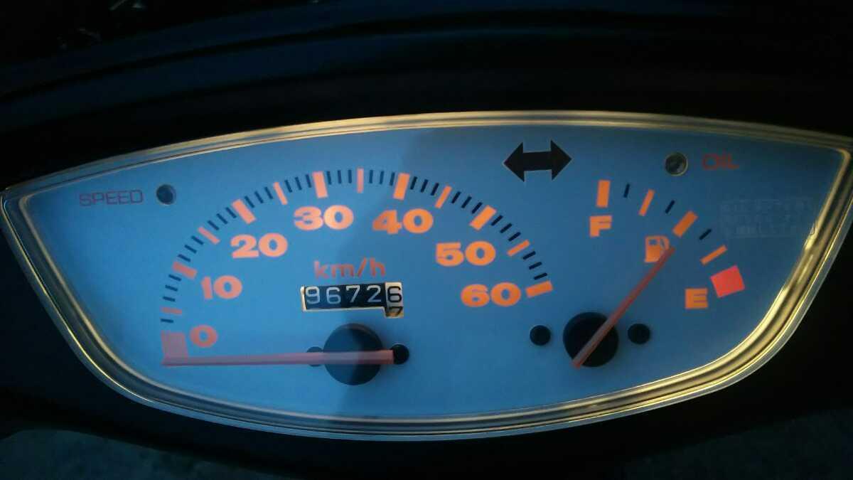「岡山発 お宝 大人気 ホンダ AF35 ライブディオZX 規制前 2スト 走行動作確認済  ジョグZR  ダックス ゴリラ エイプ ズーマー」の画像3