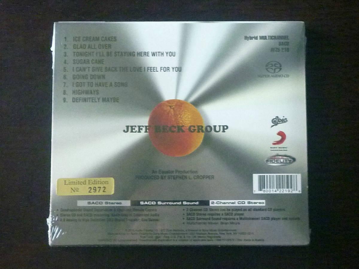 【Hybrid SACD マルチ】ジェフ・ベック・グループ/JEFF BECK GROUP♪限定シリアル付 新品