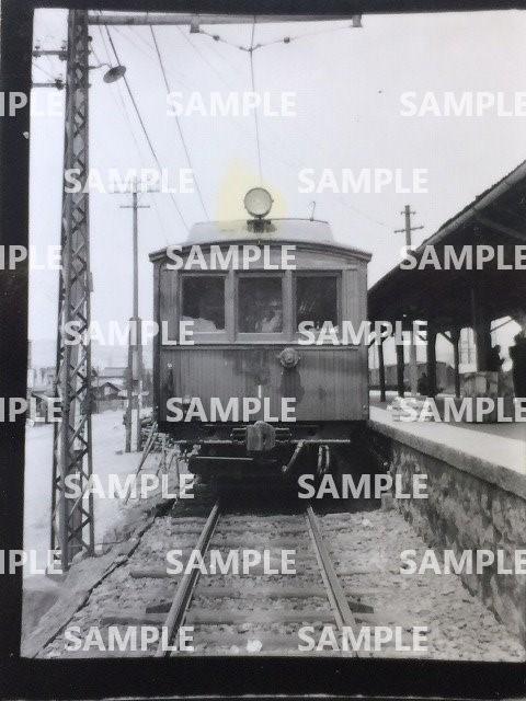 rT【写真】松本電気鉄道 電車 ホデハ形 デハ1 昭和28年 松本 (木造 ダブルルーフ 日本車輌製 [○→モハ10形101_画像1