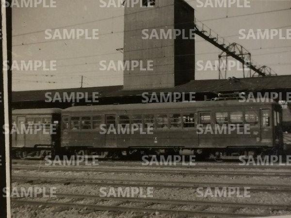 rT【写真】秩父鉄道 電車 デハ50形 昭和24年 熊谷駅 (木南車輌製_画像1