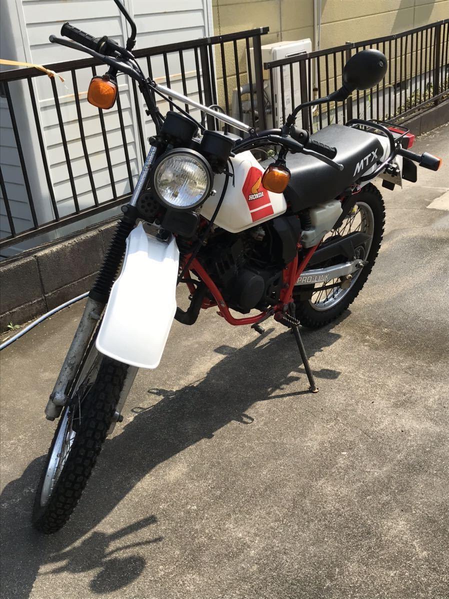 「MTX50 AD04 2スト 空冷 ビンテージオフロード RENTHALレンサル vitaloniビタローニ kijimaキジマ」の画像2