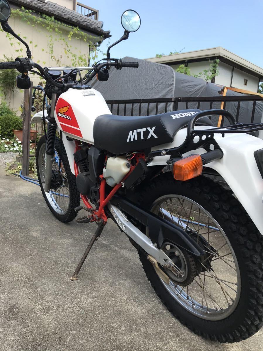 「MTX50 AD04 2スト 空冷 ビンテージオフロード RENTHALレンサル vitaloniビタローニ kijimaキジマ」の画像3