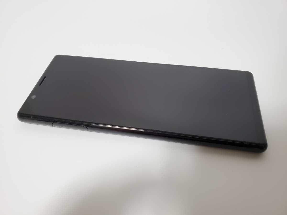 【美品】Xperia 5 ブラック J9210【海外SIMフリーモデル】_画像2