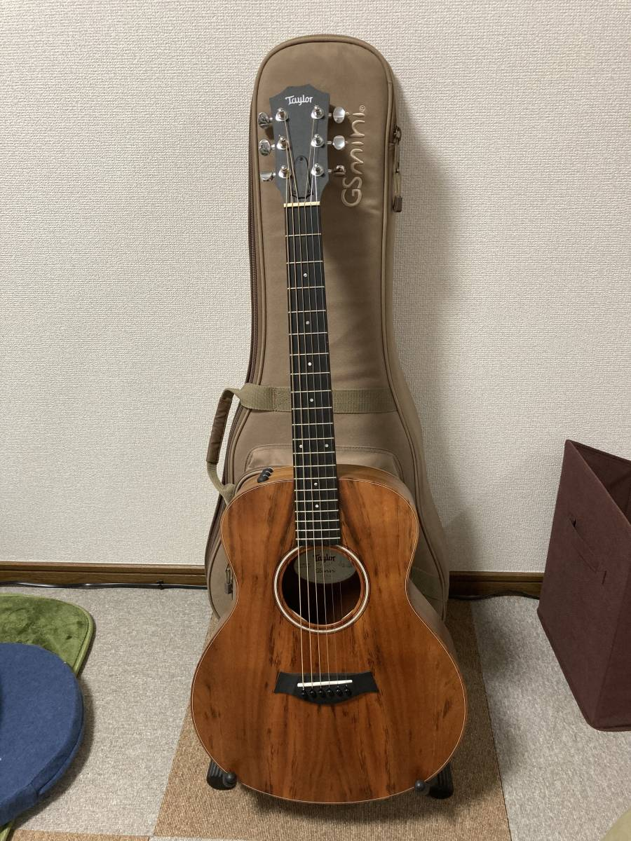 【中古美品】Taylor GS mini-e Koa ES2