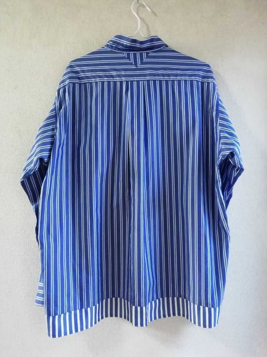 19SS White Mountaineering STRIPE PULLOVER SHIRT size1_画像2