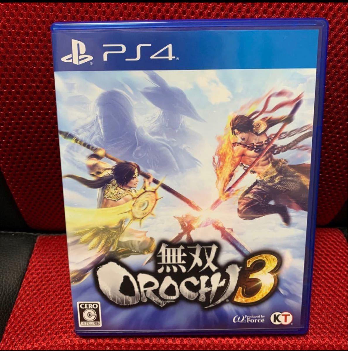 【PS4】ソフト 無双OROCHI3
