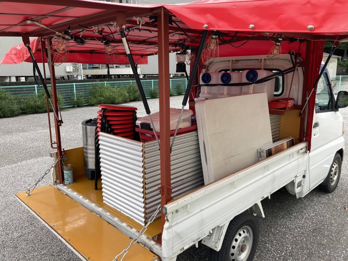 「ミニカ 屋台仕様 車検公認 車検付き 食器椅子鍋調理器具付き いきなりお仕事始めれます。」の画像3