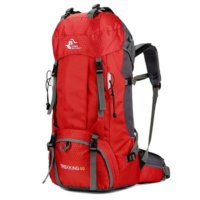 M1077:60L アウトドア バックパック キャンプ 登山 バッグ 防水 ハイキング モール スポーツ リュック_デザイン4