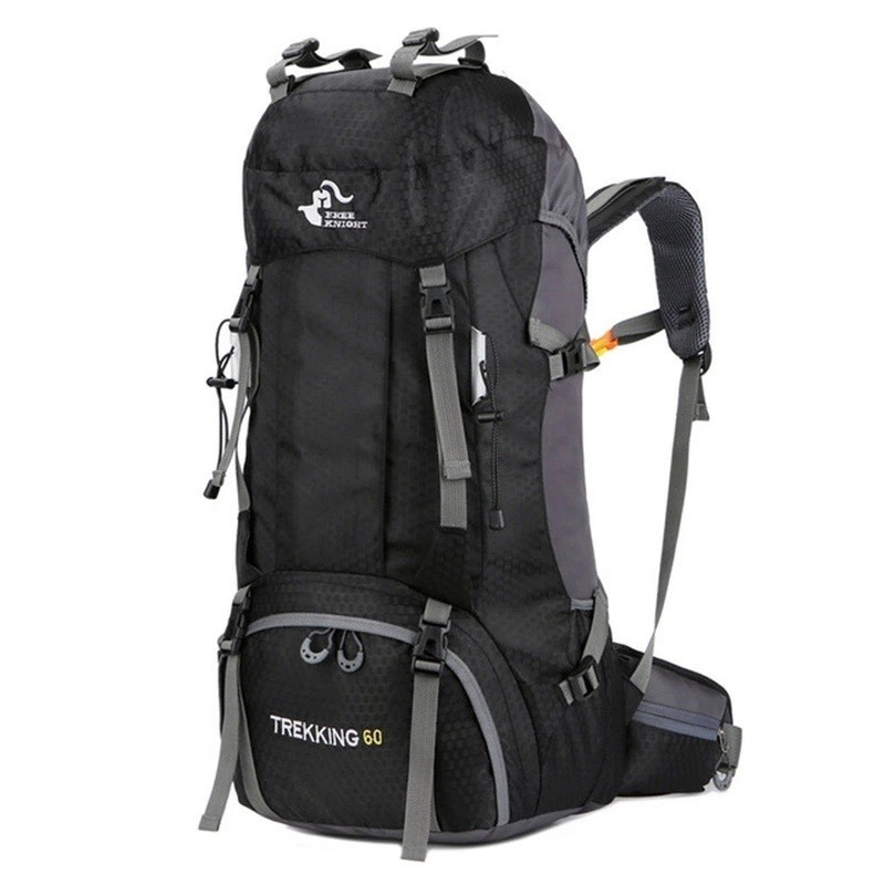 M1077:60L アウトドア バックパック キャンプ 登山 バッグ 防水 ハイキング モール スポーツ リュック_デザイン1