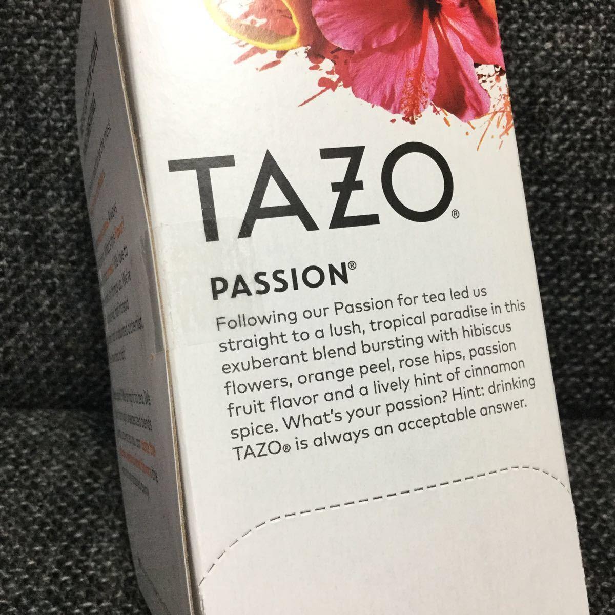TAZO tea タゾ ティー ★パッション★ハーブティー★スタバ