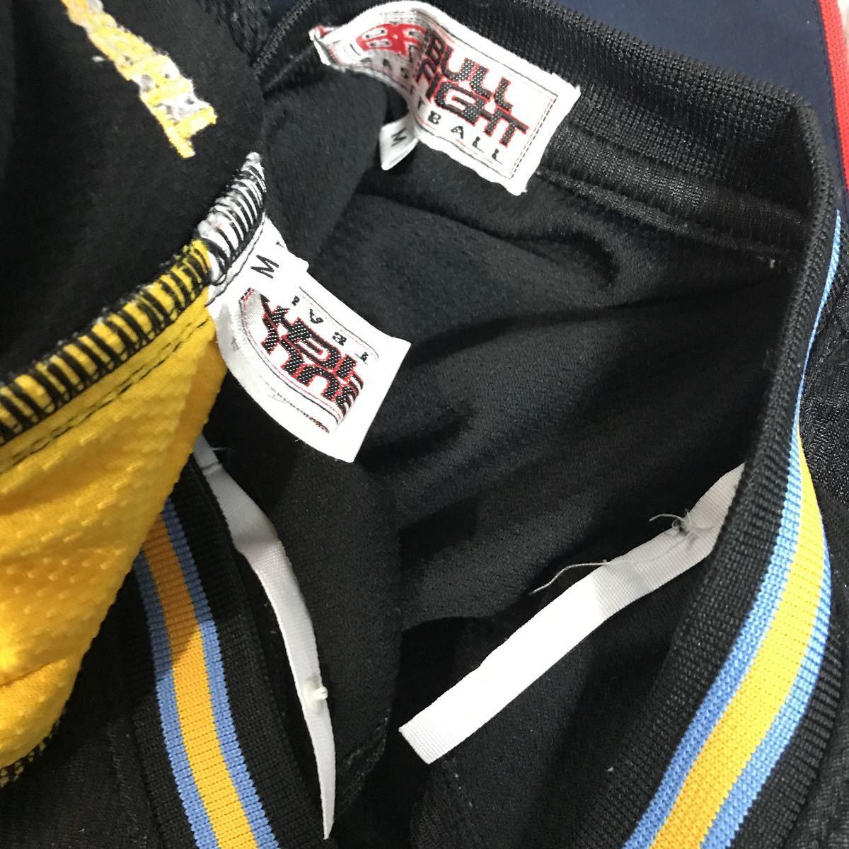 和田 女子バスケットボール部 ブルファイトbull fight #20 黒 ブラック バスケユニフォーム バスケットボール 上下セット Mサイズ_画像10