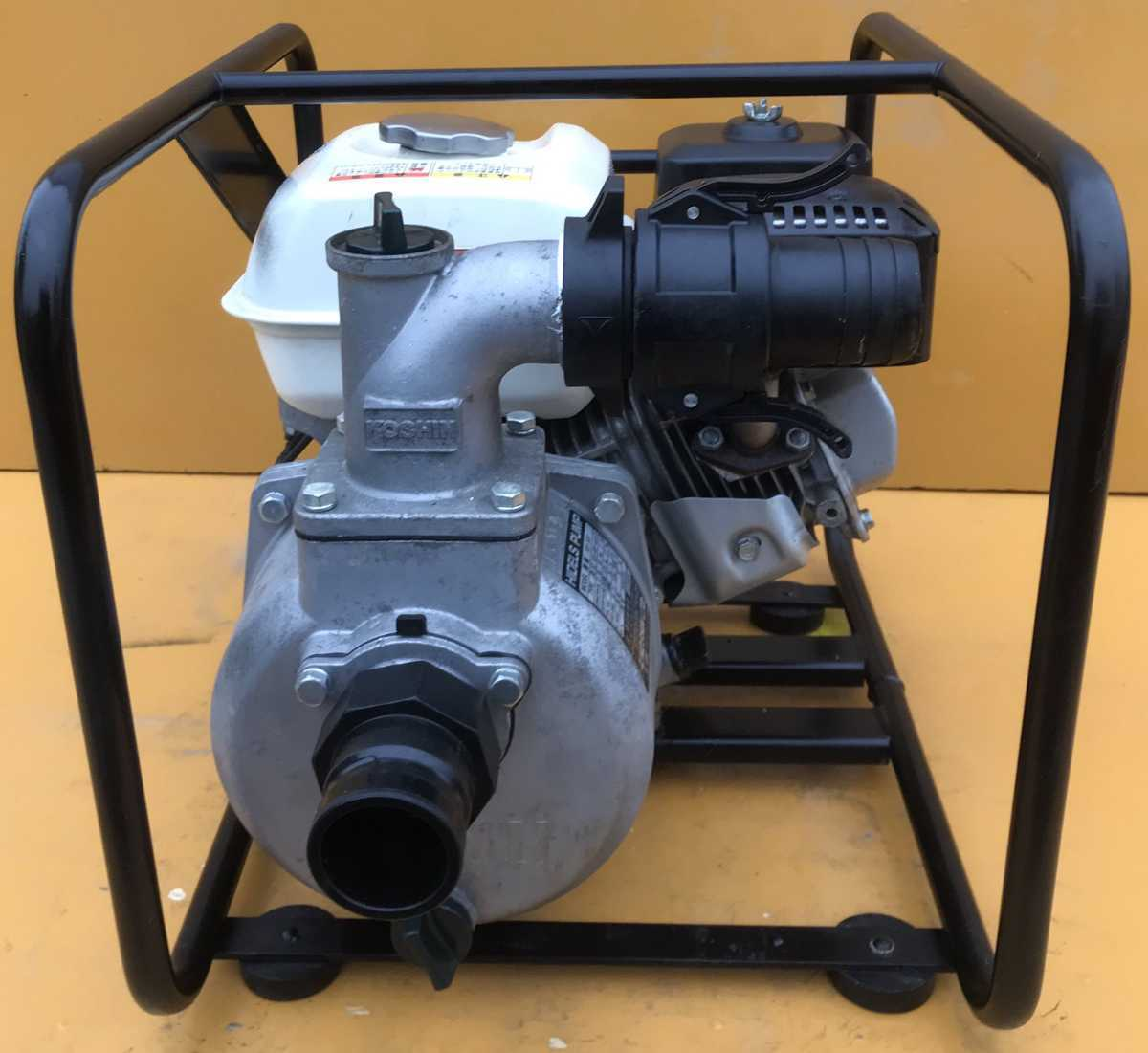 KOSHIN 工進 ハイデルスポンプ エンジンポンプ KH-50P honda gp160 美品 _画像3