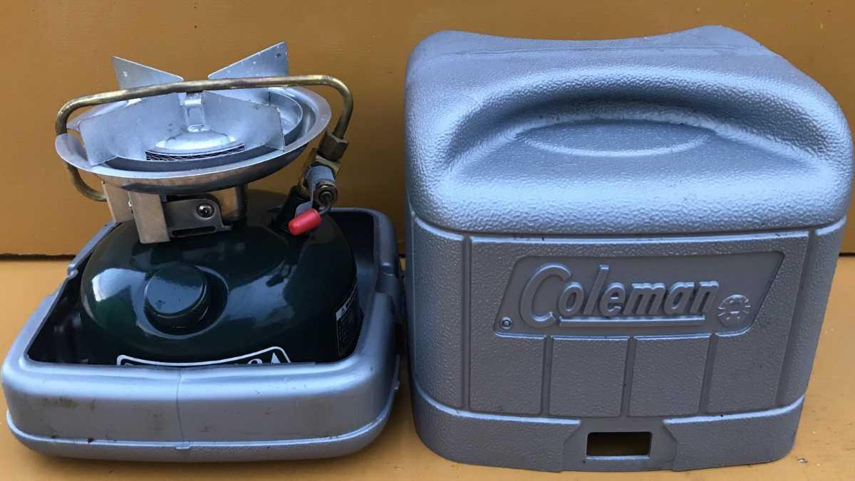 新品未使用 COLEMAN 508A コールマンシングルバーナー未使用品 キャンプ用品STOVE _画像1