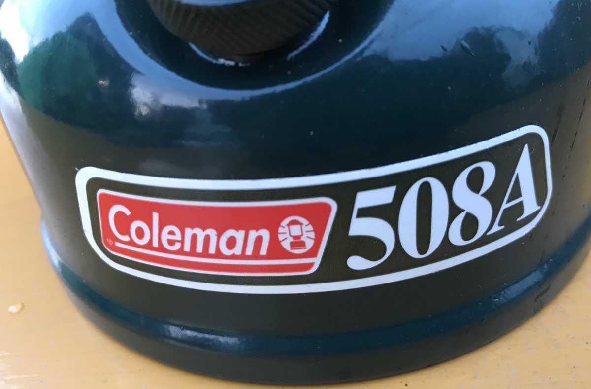 新品未使用 COLEMAN 508A コールマンシングルバーナー未使用品 キャンプ用品STOVE _画像6